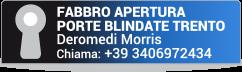 FABBRO APERTURA PORTE BLINDATE TRENTO